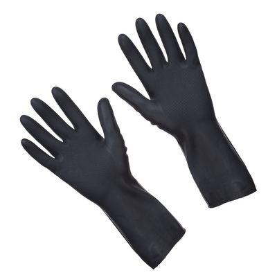 Reinigungshandschuhe, schwarz, Gr. L