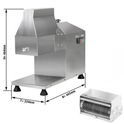 Electric meat pounder incl. cutter