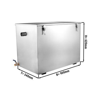 Fettabscheider - 132 Liter | Ölabscheider | Fettseparator | Abscheider | Gastronomie