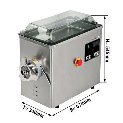 Fleischwolf (mit Kühlung) - Kapazität 400 kg/h