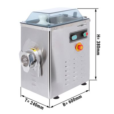Fleischwolf - Kapazität 400 kg/h