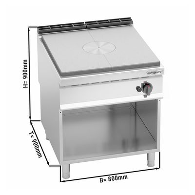 Simmer plate stove (13 kW)