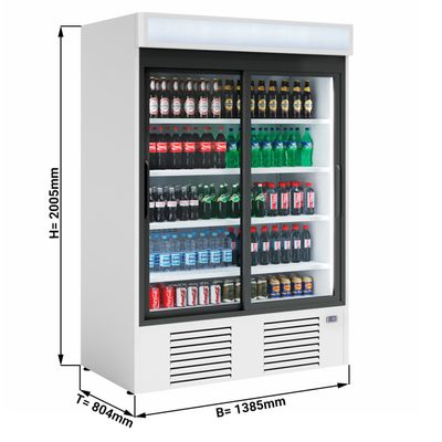 Beverage refrigerators/ cooler 1310 litres - with 2 doors