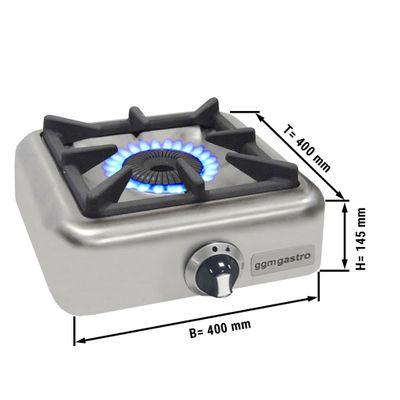 Gaskocher - mit 1 Brenner (4 kW)
