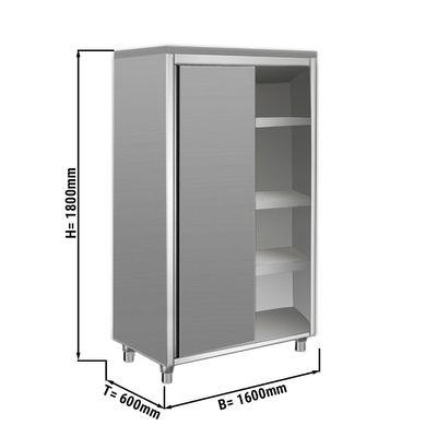Geschirrschrank ECO - 1,6 m - 2 Schiebetüren - 1,8 m - Hoch