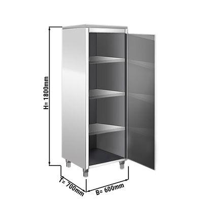 Geschirrschrank - 0,6 m - 1 Flügeltür - 1,8 m - Hoch