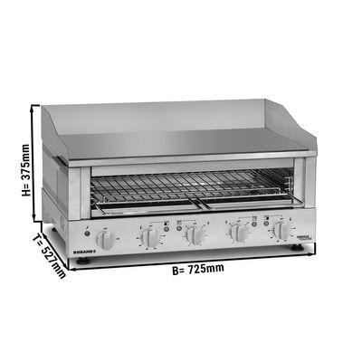 Roband Griddle Toaster 700 - Grill + Salamander