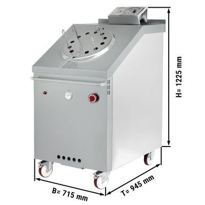 Gas Tandoori-Ofen - 715 x 1225 mm