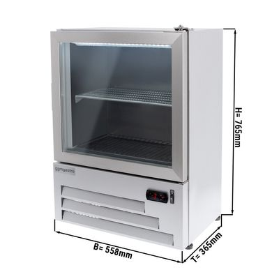 glass icer - 52,5 litres - with 1 glass door