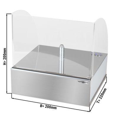 Glasvereiser bis - 38 °C - LED-Beleuchtung