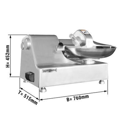 Horizontaler Cutter - 218 kg/h