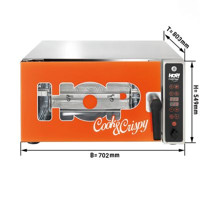 Professionelle Heißluftfritteuse - Airfryer - 3500 Watt