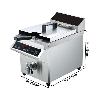 Induction deep fat fryers - 8 litres