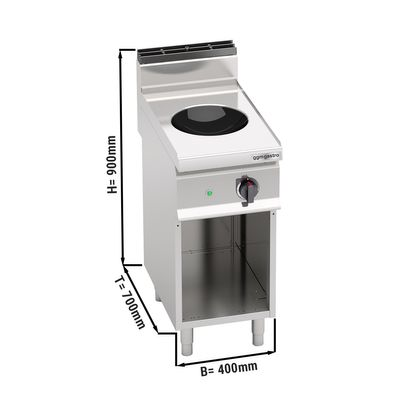 Induktionswok (3,5 kW) Power
