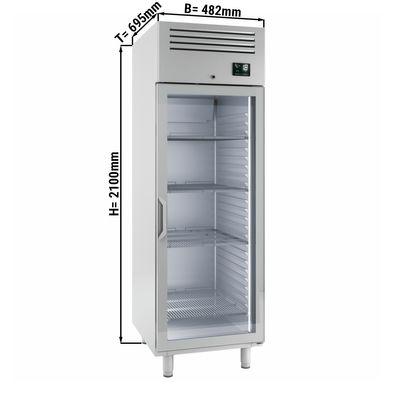 Freezer (GN 2/1) - with 1 glass door