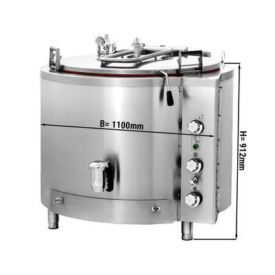 Gas Kochkessel - 300 Liter - Indirekte Beheizung