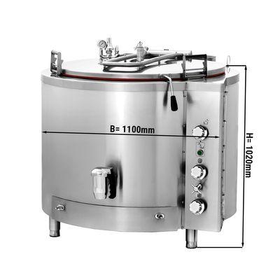 Gas Kochkessel - 400 Liter - Indirekte Beheizung