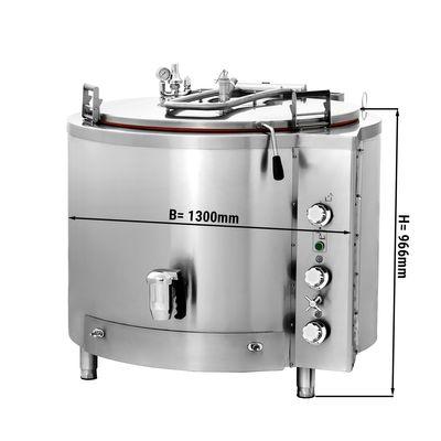 Gas Kochkessel - 500 Liter - Indirekte Beheizung