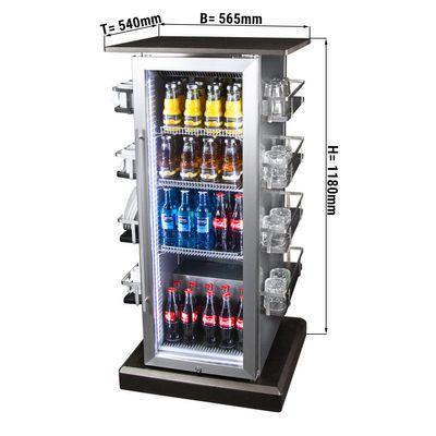 Konferenzkühlschrank - 85 Liter - mit 1 Glastür