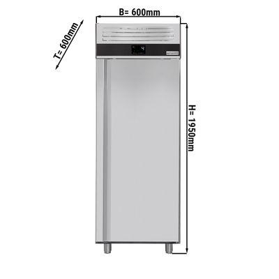 Fischkühlschrank 0,6 x 0,6 m - 400 Liter - mit 1 Tür