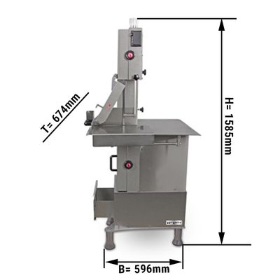 Knochensäge - 2020 mm Sägeband