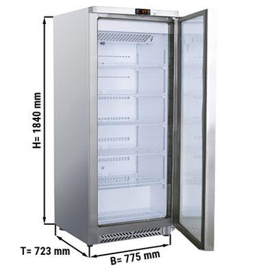 Lagerkühlschrank - 590 Liter - mit 1 Tür
