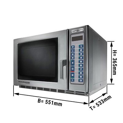 Microwave oven automatic 34 litres - 1800 Watt