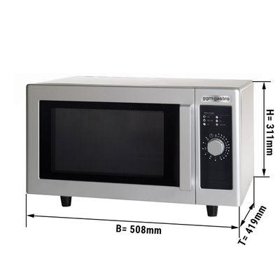Microwave - 26 litres - 1000 Watt