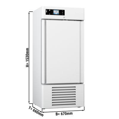 Medizinkühlschrank - 0,67 x 0,66 m - 244 Liter - mit 1 Tür
