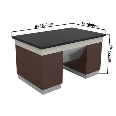 Neutralelement - 1,6 x 1,0 m | Salatbar | Buffettheke