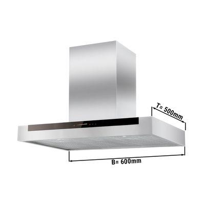 Plasma Dunstabzugshaube - 0,6 m - mit Touch-Control, Motor, Filter & Lampe