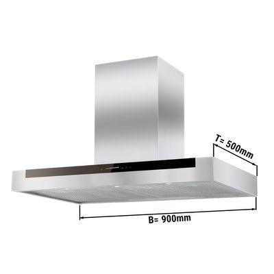 Plasma Dunstabzugshaube - 0,9 m - mit Touch-Control, Motor, Filter & Lampe