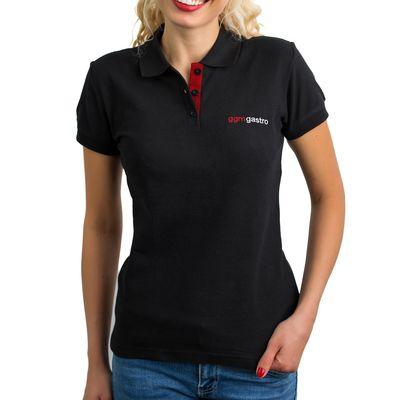 (5 Stück) Poloshirt WOMEN - Schwarz - Größe: XS