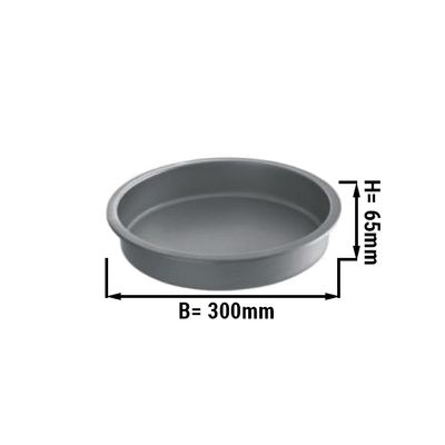 Round container for CDY55R