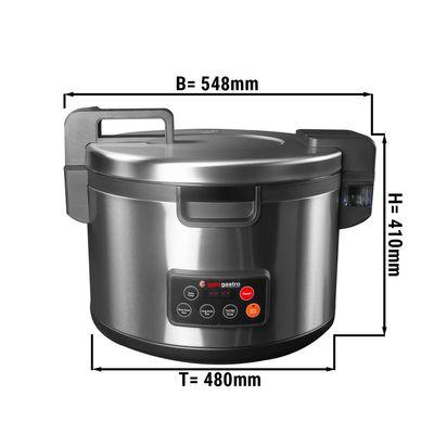 Reiskocher - 8,2 Liter | Asiakocher | Dampfgarer