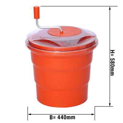 Salatschleuder aus Kunststoff - 20 Liter