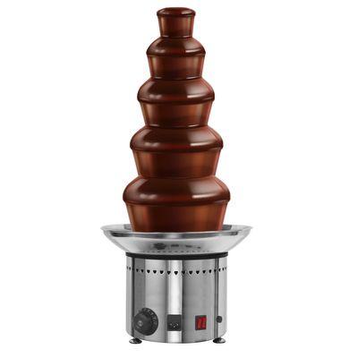 نافورة شوكولاتة - 5 طوابق - ارتفاع 70 سم