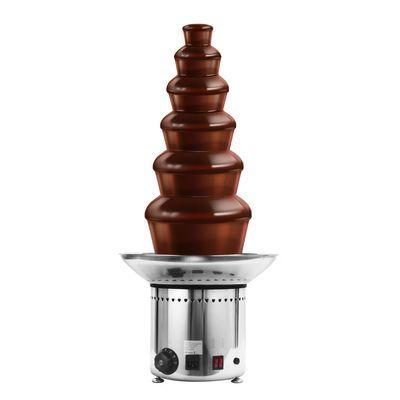 نافورة شوكولاتة - 6 طوابق - ارتفاع 70 سم