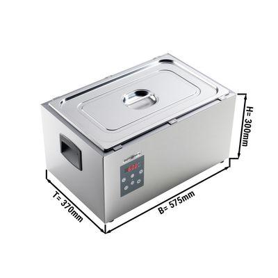 Softcooker mit statischer Wassererwärmung - GN 1/1 | Sous-Vide | Wasserbad | Garer