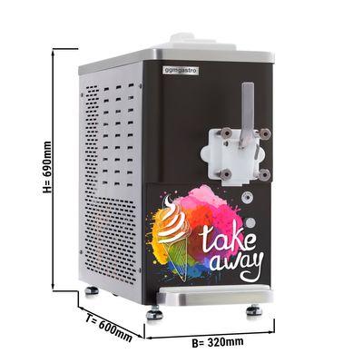 ماكينة صنع الثلج الناعم - 11.25 لتر / ساعة