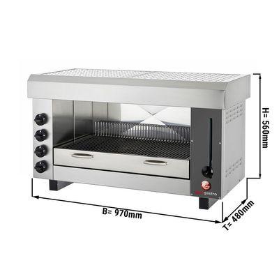 Pita Oven / Salamander with 4 burners
