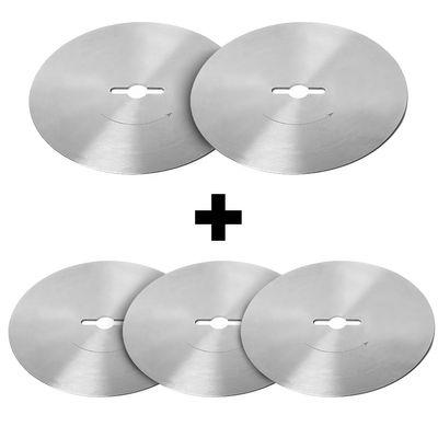(5 Stück) Rundes Schneidemesser mit glatter Klinge - Ø 100 mm für Dönerschneider