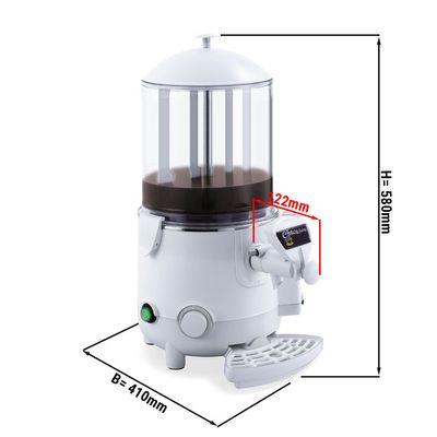 Schokoladenspender / Salep - 10 Liter - Weiß