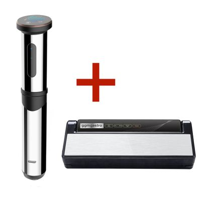 Sous Vide Garer - max. 15 Liter - inkl. Vakuumiergerät