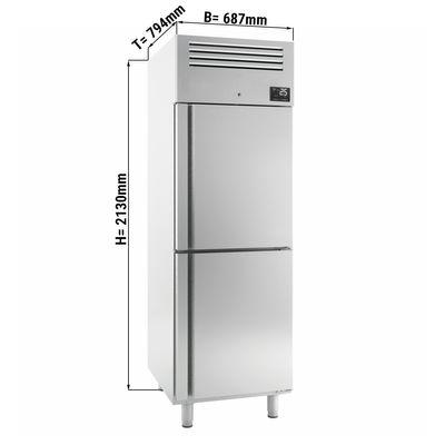 Freezer (GN 2/1) - with 2 doors