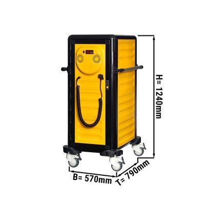 19 x GN 1/1 عربة محايدة حرارية