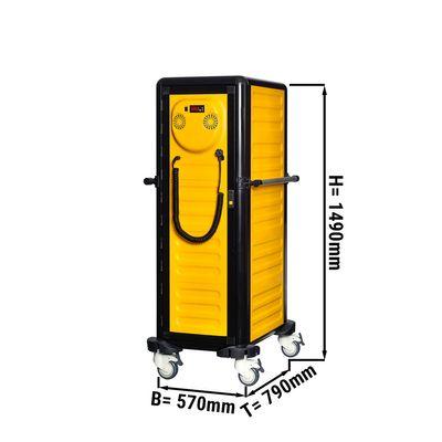 Thermowagen Heiß - 24x GN 1/1