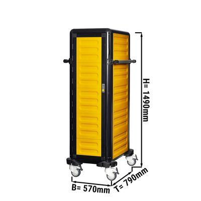 24 x GN 1/1 عربة محايدة حرارية