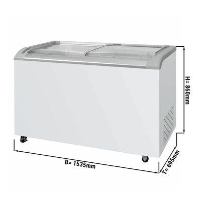 Tiefkühltruhe - 492 Liter (Nettoinhalt)