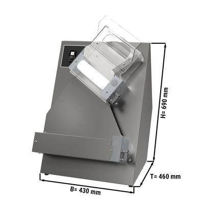 Teigausrollmaschine / Teigausroller - für 30 cm Pizzateig